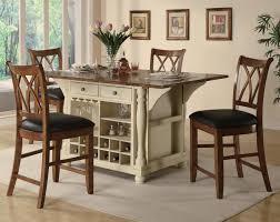 Elegant Kitchen Table Decorating Ideas by Kitchen Elegant Kitchen Island Table Combo Ideas With White
