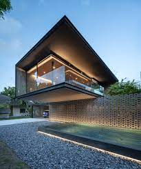 100 Modern House.com Lighting Is An Important Design Feature On This House