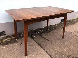 Cox For Heals Extending Dining Table In Walnut Vintage Retro Mid Glass Coffee Tables Full Size