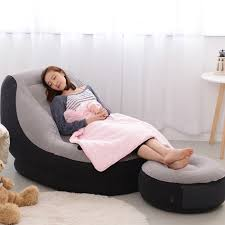 Intex Inflatable Sofa Bed by Intex Inflatable 2 Person Sofa Lounge Home Camping