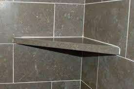 awesome corner shelves for shower brilliant ideas ceramic