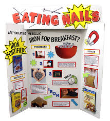 Make A Science Fair Project About Importance Of Iron