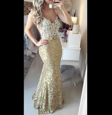 popular white and gold lace dress maxi buy cheap white and gold