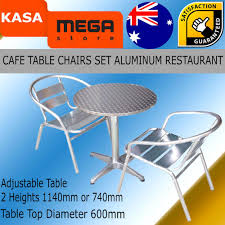 Details About Outdoor Cafe Table And Chairs Set Commercial Aluminum  Restaurant Furniture Alinum Alloy Outdoor Portable Camping Pnic Bbq Folding Table Chair Stool Set Cast Cats002 Rectangular Temper Glass Buy Tableoutdoor Tablealinum Product On Alibacom 235 Square Metal With 2 Black Slat Stack Chairs Table Set From Chairs Carousell Best Choice Products Patio Bistro W Attached Ice Bucket Copper Finish Chelsea Oval Ding Of 7 Details About Largo 5 Piece Us 3544 35 Offoutdoor Foldable Fishing 4 Glenn Teak Wood Extendable And Bk418 420 Cafe And Restaurant Chairrestaurant