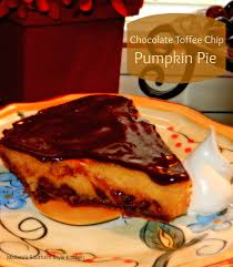 Keebler Double Layer Pumpkin Cheesecake Recipe by Chocolate Toffee Chip Pumpkin Pie Melissassouthernstylekitchen Com
