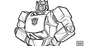Masami Lauman Transformers Coloring Pages Bumblebee