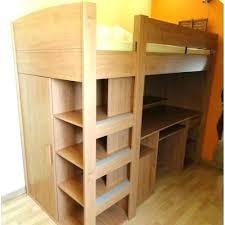 lit superposé avec bureau intégré conforama lit mezzanine armoire lit armoire conforama conforama lit sureleve