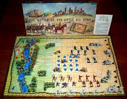 The Battle Of Little Big Horn Board Game