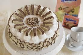 vegane manner torte mit manner sahne und nuss nougat creme