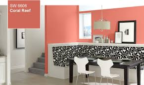 Coral Color Interior Design by Color Of The Year Coral Reef Sw 6606 By Sherwin Williams