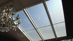 vitrage à store intégrés pour toiture de véranda veralam