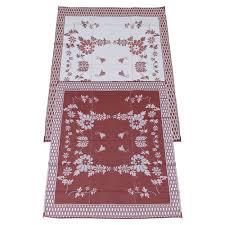 fireside patio mats burgundy wine 9 ft x 12 ft polypropylene