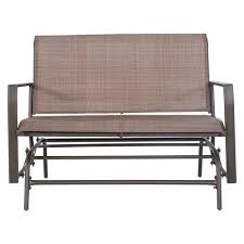Crawford & Burke Amora 45 In. 2 Person Brown Steel Outdoor ... Details About Garden Glider Chair Tray Container Steel Frame Wood Durable Heavy Duty Seat Outdoor Patio Swing Porch Rocker Bench Loveseat Best Rocking In 20 Technobuffalo The 10 Gliders Teak Mahogany Exclusive Fniture Accsories Naturefun Kozyard Fleya Smooth Brilliant Outsunny Double How To Tell If Metal And Decor Is Worth Colorful Mesh Sling Black Buy Chairoutdoor Chairrecliner Product On Alibacom Silla De Acero Con Recubrimiento En Polvo Estructura