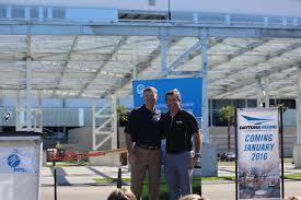 Daytona International Speedway Goes Green with Three Mega Solar