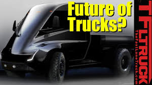 100 Future Trucks Will Electric Be The Way Of The YouTube