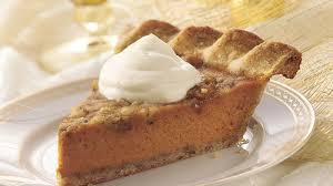 Pumpkin Pie With Pecan Praline Topping by Pecan Crusted Pumpkin Pie Recipe Bettycrocker Com