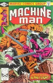 Machine Man 19