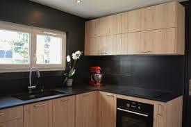 photos de cuisine moderne cuisine moderne en bois beautiful nouvelle cuisine en bois et noir
