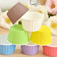 Details About 50Pcs Paper Baking Cup Cake Cupcake Cases Liners Muffin Dessert Wedding Party