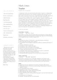 Sample Resume For Teacher Assistant Resumes