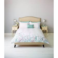 Buy John Lewis Klara Butterfly Embroidered Bedding Duck Egg Online At Johnlewis