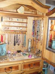 Armoire As Jewelry Cabinet