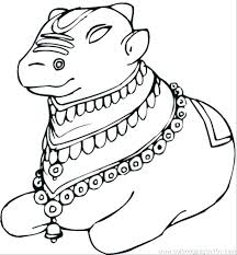 Coloring Pages Of A Horse Head Cow Page Printable