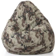 Style Homez Classic Cotton Canvas Camouflage Printed Bean Bag XXL ... Waterproof Camouflage Military Design Traditional Beanbag Good Medium Short Pile Faux Fur Bean Bag Chair Pink Flash Fniture Personalized Small Kids Navy Camo W Filling Hachi Green Army Print Polyester Sofa Modern The Pod Reviews Range Beanbags Uk Linens Direct Boscoman Cotton Round Shaped Jansonic Top 10 2018 30104116463 Elite Products Afwcom Advantage Max4 Custom And Flooring