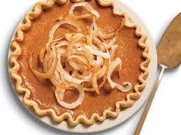 Healthy Light Pumpkin Dessert by Ginger Pumpkin Pie With Toasted Coconut Recipe Myrecipes
