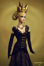 Ravenna The Evil Queen OOAK Barbie Doll By Ninamorgue