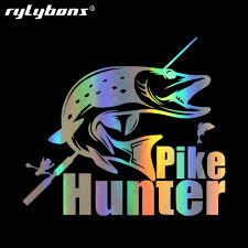 Aliexpress.com : Buy Fashion Pike Hunter Fishing Bite Car Stickers ... 2 Fish Skeleton Decals Car Sticker Fishing Boat Canoe Kayak Rodfather Funny Vancar Jdm Vw Dub Vag Euro Vinyl Decal Tancredy Go Stickers And Bumper Bass Truck Wall Window 1pc High Quality 15179cm Id Rather Be Fly Angler Vinyl Decal Fly Fishing Sticker Ice Hell When Freezes Over Ill Visit To Buy 14684cm Is Good Bruce Pinterest 2018 Styling Daiwa Brand And For Hooked On Outdoor Life Camping