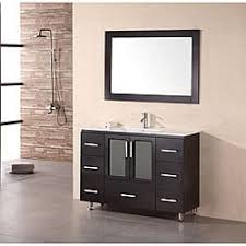 Vanity Chairs For Bathroom Wheels by Espresso Finish Bathroom Vanities U0026 Vanity Cabinets Shop The