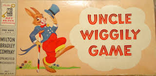 Vintage Uncle Wiggily Game Box
