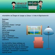 at home zuhause englisch 5 klasse übungen pdf