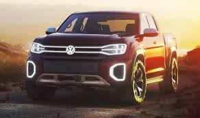 The Unibody Volkswagen Tarok Pickup Has A Cool Extendable Bed ...