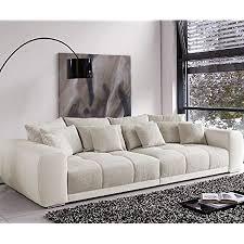 valeska big sofa 310 x 135 cm with 12 cushions grey beige