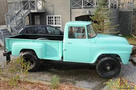 1957 International Harvester 4x A120 Step Side Pick Up Truck 1 Ton 4 ...