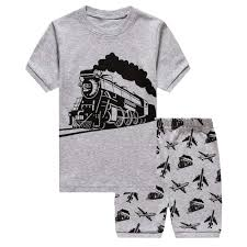 100 Fire Truck Pajamas Amazoncom Toddler Boys 100 Cotton Kids Train 2
