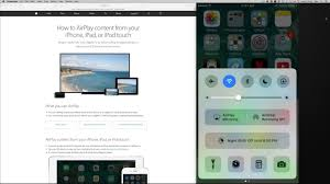 How to Airplay mirroring in iOS 10 iPhone iPad iPod