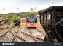 100 Railroad Trucks Train On Old Abandoned Steam Stock Photo Edit Now 274176284