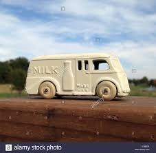 Vintage Toy Diecast Metal Milk Truck 1930s Stock Photo: 310585894 ...