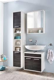sheffield badezimmer set 3 teilig kiefer schwarz weiß günstig möbel küchen büromöbel kaufen froschkönig24