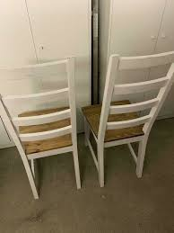 2x esszimmerstühle stühle serie dänisches bettenlager