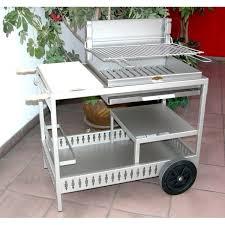 fabriquer cheminee allumage barbecue le modèle montory inox le barbecue charbon de bois le marquier