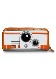 loungefly star wars the force awakens bb8 wallet