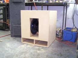 1x10 Guitar Cabinet Plans by How To Build A Bass Speaker Cabinet Memsaheb Net