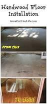 Wood Floor Nailer Hire by Hardwood Floor Installation Part 2