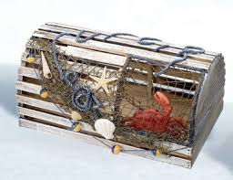 10 decorative lobster trap ideas for your beach house beach