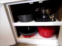 an organized and clutter free kitchen part 6 cabinets dishes