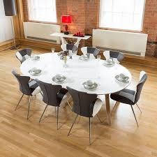 100 Large Dining Table With Chairs 140 X 240 Luxury White Oval With 8 Patchwork